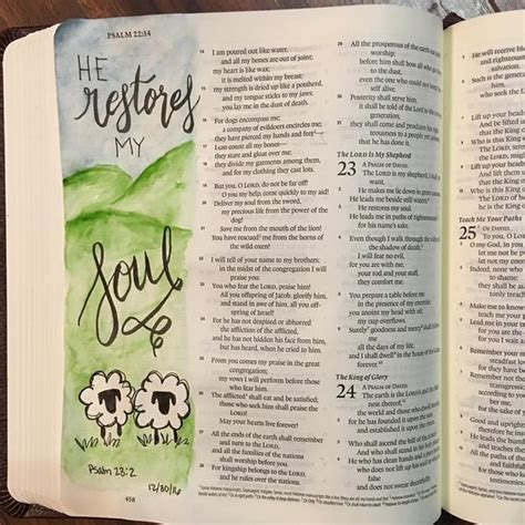 239 best images about bible journaling psalms on bible journaling psalm 23 bible journaling pinterest