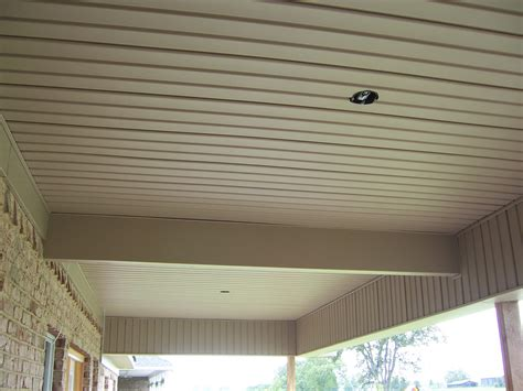 beadboard soffit panels vinyl beadboard soffit for porch ceilings images