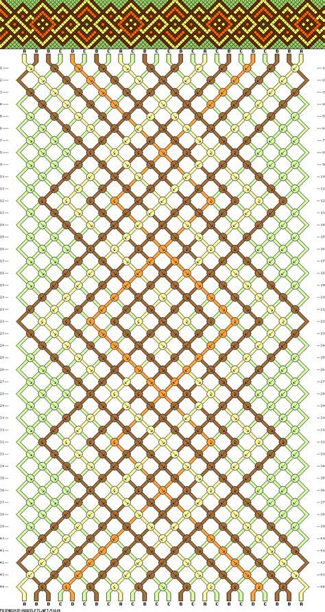 Macrame Net Pattern - 51604 friendship bracelets net