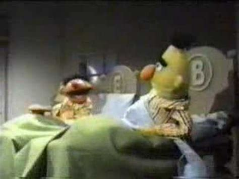 bert and ernie in bed bert and ernie cookies in bed youtube