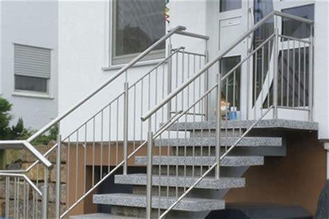 treppengeländer edelstahl aussentreppe terrassengel 228 nder