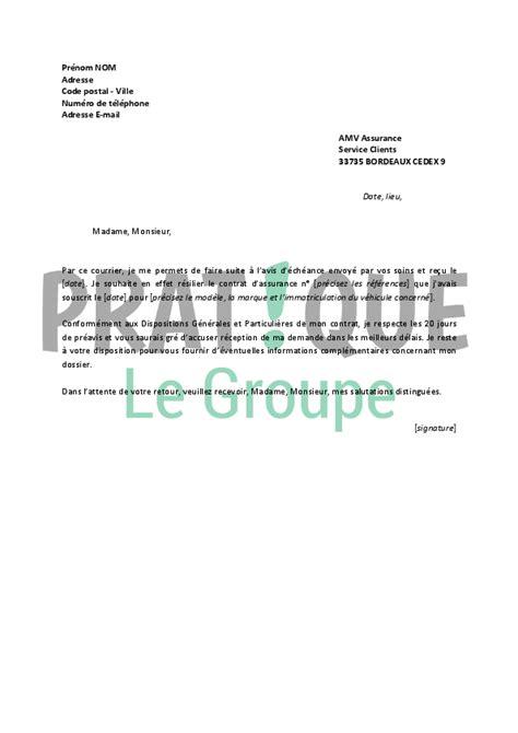 Resiliation Autolib Lettre Modele Resiliation Autolib Document