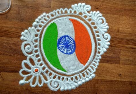 designs for pictures independence day special rangoli designs indian flag in