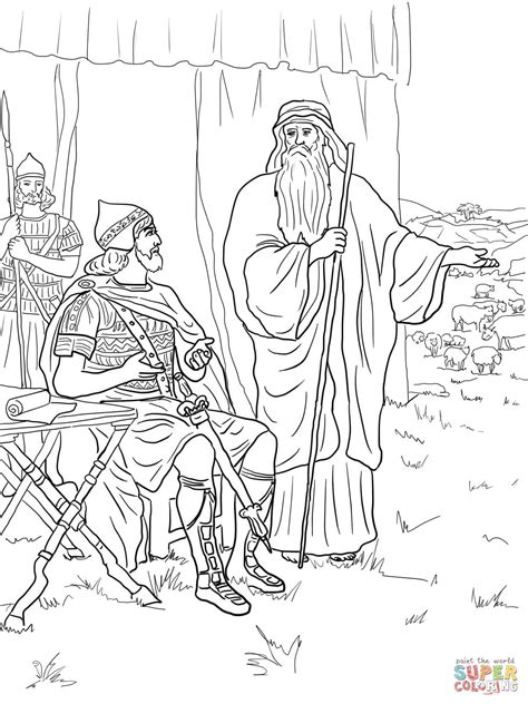 Saul Disobeys God Coloring Page Free Printable Coloring King Saul Coloring Pages