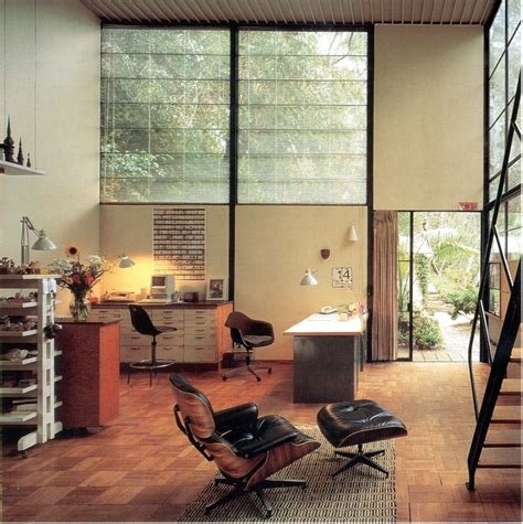 Eames House Interior by Photo Gallery Eames Foundation