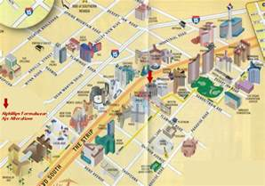 Las Vegas Casino Map by Las Vegas Map Las Vegas Casino Map Las Vegas Strip Map
