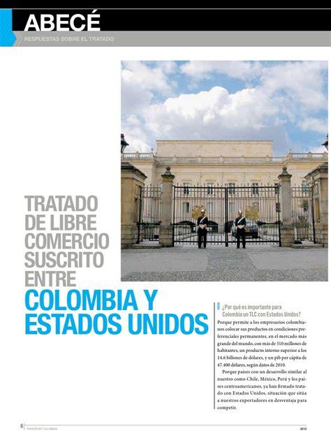 tlc colombia estados unidos y su incidencia en el sector abec 233 del tlc colombia estados unidos