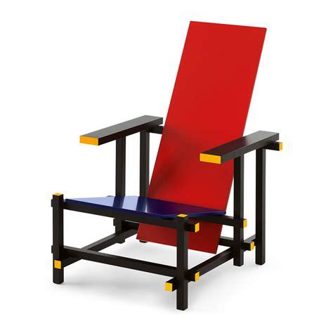 silla roja la silla roja y azul de gerrit thomas rietveld