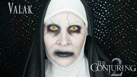 Tutorial Makeup Valak | the conjuring 2 valak makeup tutorial tutorial de