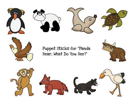 preschool printables panda bear back to school