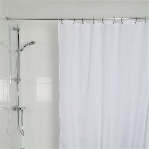 high shower curtain croydex high performance shower curtain white gp85107