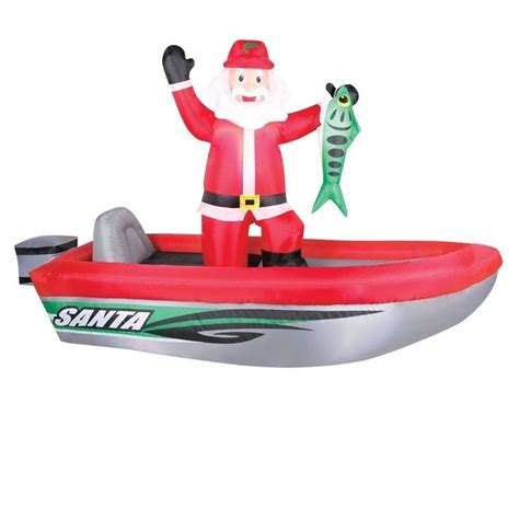 inflatable santa in boat best 25 inflatables ideas on tropical decorations hawaiian