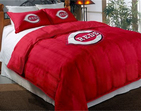 cincinnati reds bedroom cincinnati reds mlb twin chenille embroidered comforter