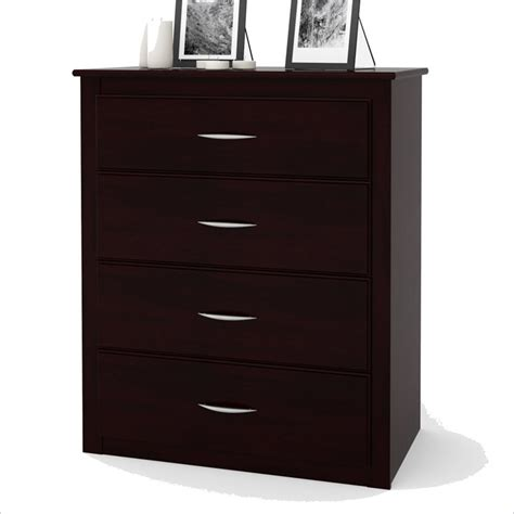 black media chest with drawers 4 drawer media chest in black forest 5517012pcom