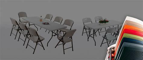 alquiler de sillas plegables sillas y mesas plegables alquiler de mobiliario para eventos