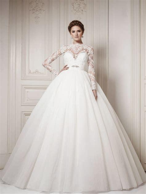 Wedding Dresses With Sleeves by Winter Wedding Dresses The Magazine