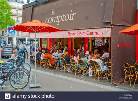 Le Comptoir St Germain by Germain De Pres Stock Photos Germain De Pres