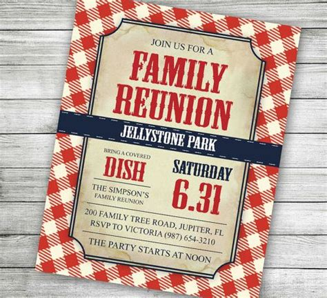 family reunion invitation letter template 25 family