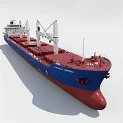 Cargo Liners Ships Geared Bulk Cargo Vessel Max