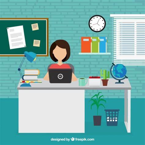 lavori in ufficio imprenditrice di lavoro in ufficio scaricare vettori gratis