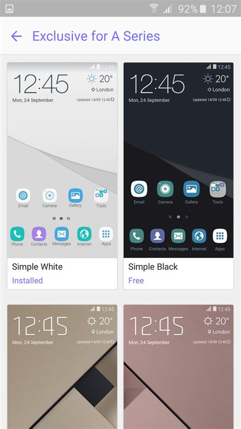 themes for galaxy a7 samsung launches exclusive themes for its new galaxy a