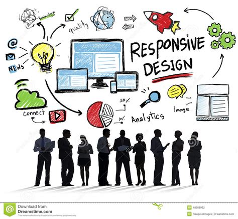 pattern auf website responsive design internet web online business