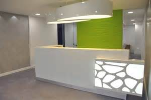 Modern Desk Design At Sight In Reception Desk Design