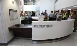 Hospital Reception Desk Hospital Holds Ribbon Cutting For New Quarterdeck Lobby Gt Marine Corps Base C Lejeune Gt C