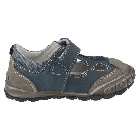boys flat shoes boys jcdees n1046 flat velcro shoes ebay