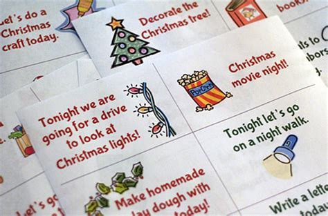 printable advent calendar cards advent activity cards let s explore