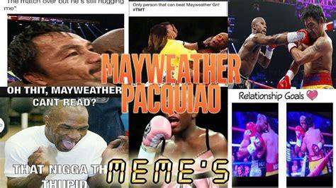 mayweather  pacquiao fight memes  meme floyd