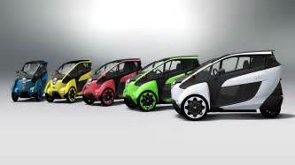 Road Electric Vehicles Uk Toyota I Road Concept