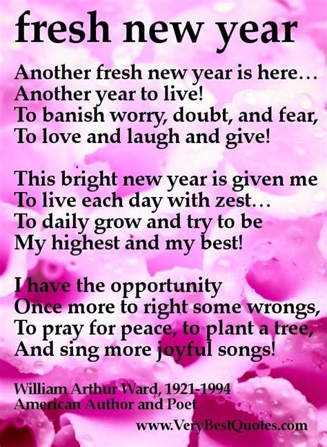 fresh new year fresh new year inspirational poem collection of