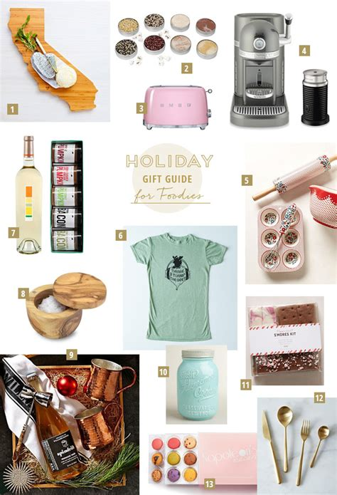 Haute Gift Guide For The Fashionable Foodie by Gift Guide For The Foodie Green Wedding Shoes Weddings