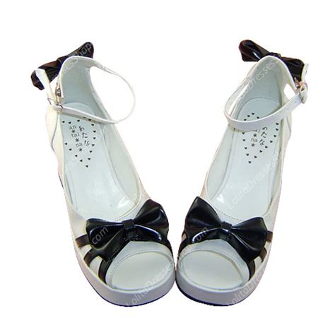 Best Seller Kvoll Sneaker Size 35 36 37 38 39 cheap simple white fish bowknot princess pu sweet shoes sale at dresses
