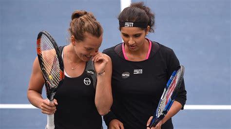 Sania Ruffle F 04 sania mirza optimistic of result with new doubles partner yaroslava shvedova tennis