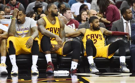 cavs bench are the cavs in trouble not yet but there are reasons to