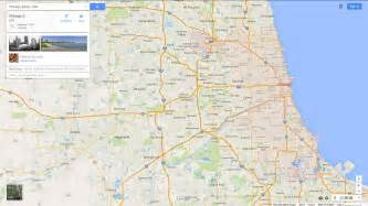 Us Map Chicago Illinois by Chicago Illinois Map