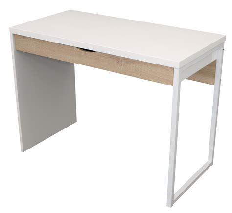 Schreibtisch Weiß Hochglanz 100 Cm by Schreibtisch Jugendschreibtisch College 100x50cm Weiss