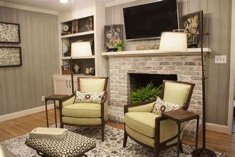 before and after lowes brick panel painted white brick backsplash faux brick shop house painted paneling and white washed fireplace home ideas