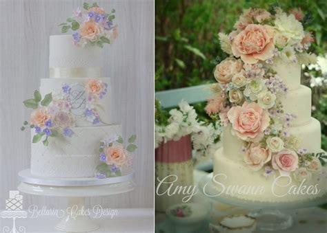 Flower Garden Cake Ideas Wedding Garden Wedding Cakes Cake Magazine