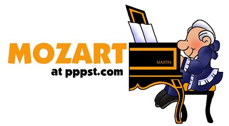 mozart biography ppt free powerpoint presentations about mozart for kids