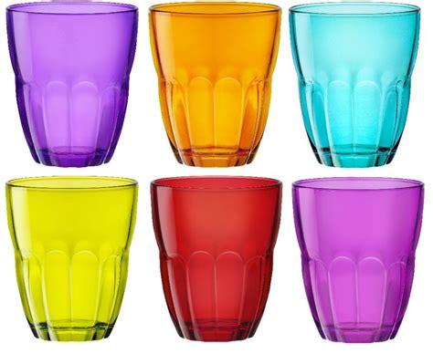 bicchieri bormioli colorati bicchieri colorati stile e allegria in tavola modelli e