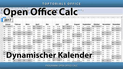 open office calc templates kalender open office kalender 2017