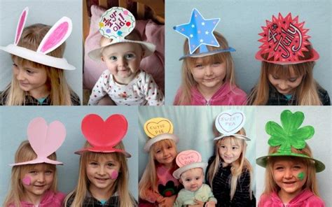 How To Make Easy Paper Hats - hat craft from paper plates alpha