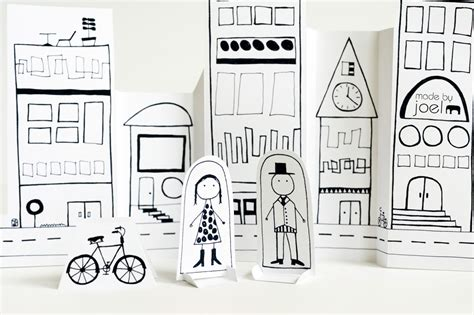 How To Make A Paper City - made by joel 187 paper city