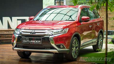 mitsubishi malaysia mitsubishi outlander 2 4l launched in malaysia cbu priced
