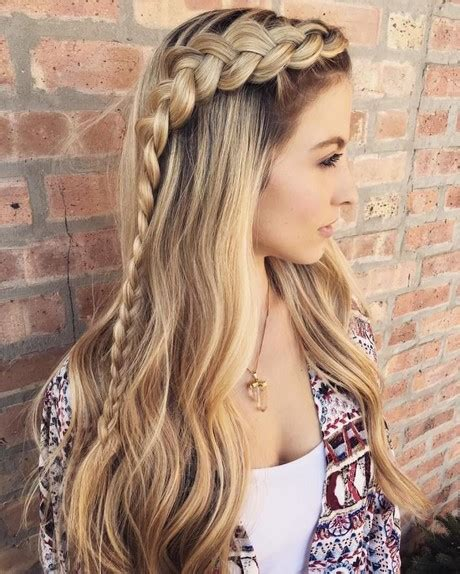 hairstyles plaits hairstyles for long hair with plaits