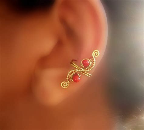 how to make ear cuffs jewelry ear cuffs on ear cuffs cuff earrings