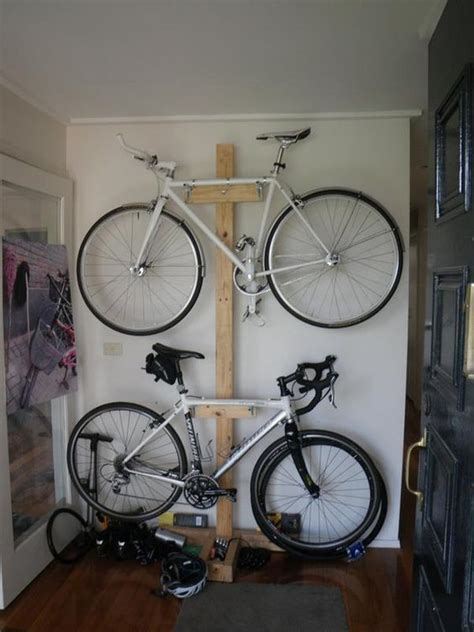indoor bike storage functional indoor bike storage ideas using bookshelves